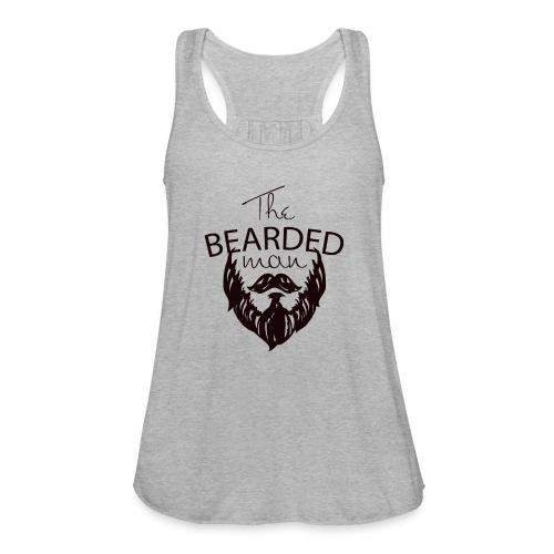 The bearded man - Women's Flowy Tank Top by Bella