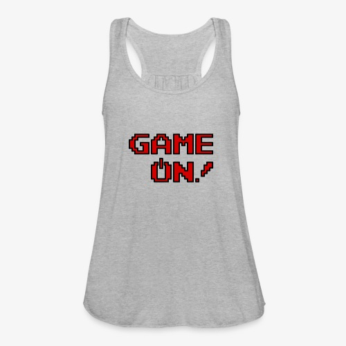 Game On.png - Women's Flowy Tank Top by Bella