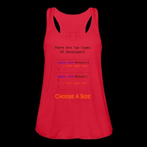 Code Styling Preference Shirt - Women's Flowy Tank Top by Bella