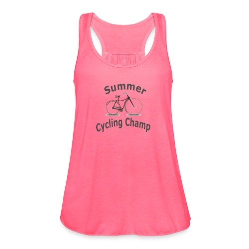 Summer Cycling Champ - Women's Flowy Tank Top by Bella