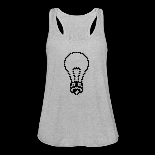 lightbulb - Women's Flowy Tank Top by Bella