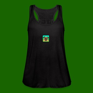 TheBratPug TEAM PLAYER - Women's Flowy Tank Top by Bella