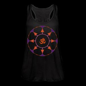 Mandala OM Hindu Symbol - Women's Flowy Tank Top by Bella