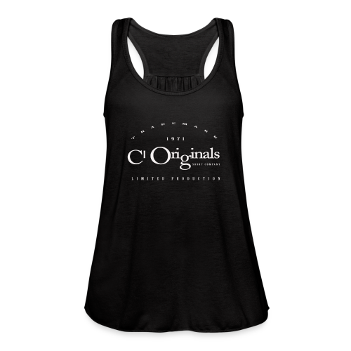 CL ORIGINALS LIMITED PRODUCTION LOGO - Women's Flowy Tank Top by Bella