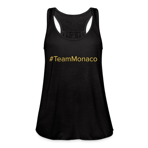 Team Monaco - Women's Flowy Tank Top by Bella