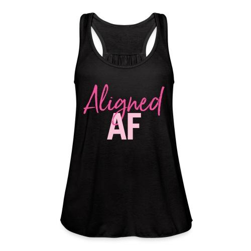 Aligned AF - Women's Flowy Tank Top by Bella