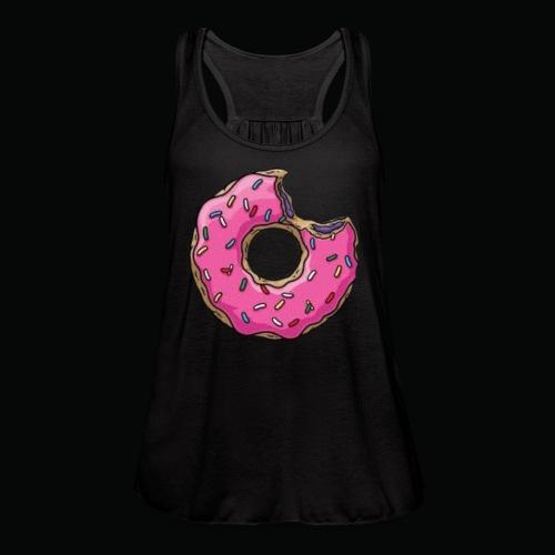 Sprinkled Donut - Women's Flowy Tank Top by Bella
