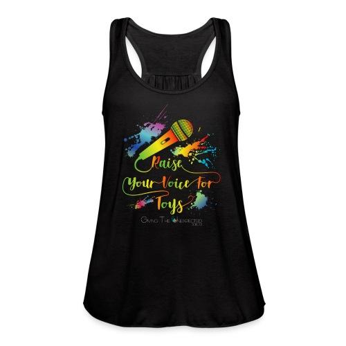GTU Toy Drive Glow Shirt - Women's Flowy Tank Top by Bella