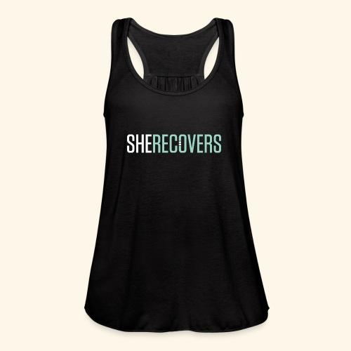 She Recovers - Women's Flowy Tank Top by Bella