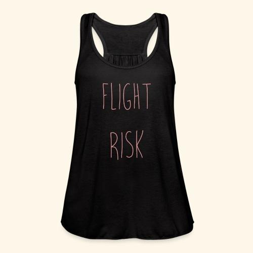 flightriskpink - Women's Flowy Tank Top by Bella