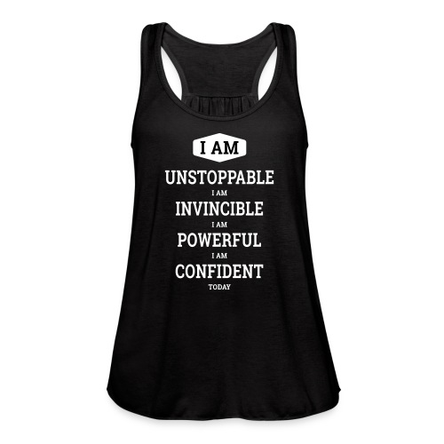 Unstoppable Original - Women's Flowy Tank Top by Bella
