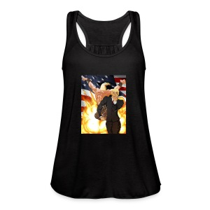 Trumps stand - Women's Flowy Tank Top by Bella