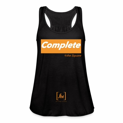 Complete the Square [fbt] - Women's Flowy Tank Top by Bella