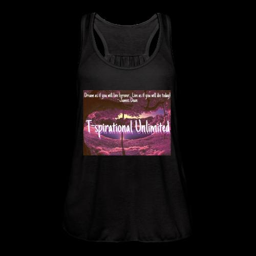 T-spirational Unlimited - Women's Flowy Tank Top by Bella