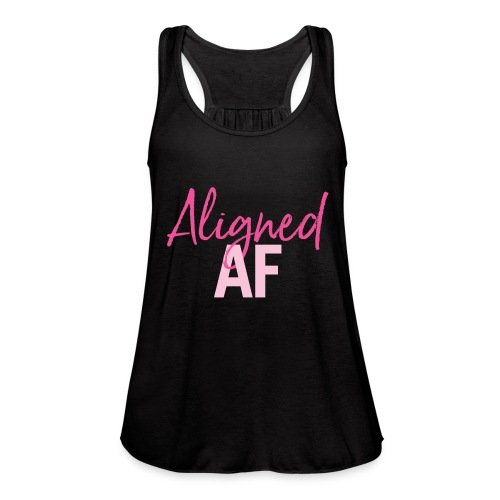 Aligned AF - Women's Flowy Tank Top by Bella
