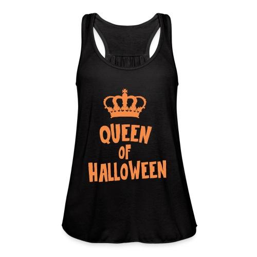 Queen of halloween - Women's Flowy Tank Top by Bella