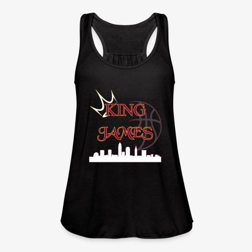 king james - Women's Flowy Tank Top by Bella