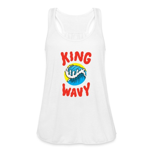 KYLE - King Wavy - Women's Flowy Tank Top by Bella