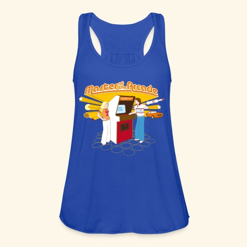 Master of the Arcade - Women's Flowy Tank Top by Bella