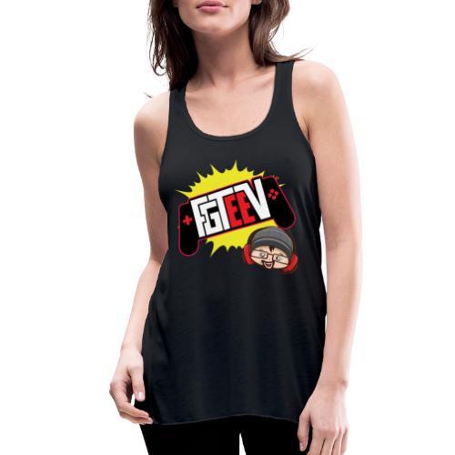 FGTEEV 2019 Logo (ADULT) - Women's Flowy Tank Top by Bella