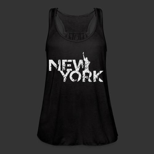 New York (Flexi Print) - Women's Flowy Tank Top by Bella