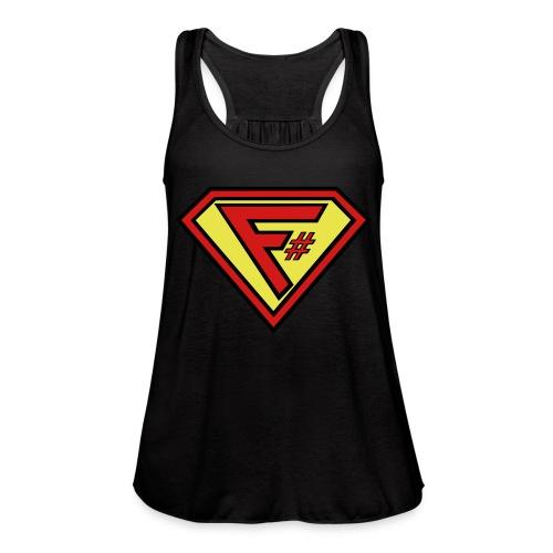 F# Hero Woman - Women's Flowy Tank Top by Bella