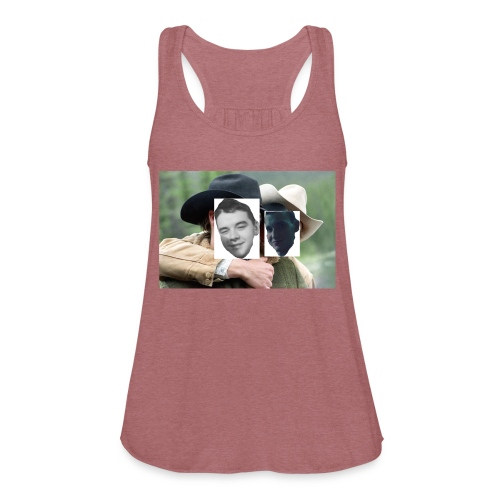 Darien and Curtis Camping Buddies - Women's Flowy Tank Top by Bella