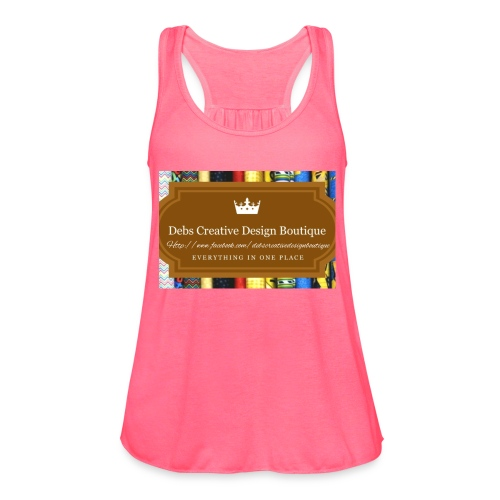 Debs Creative Design Boutique with site - Women's Flowy Tank Top by Bella