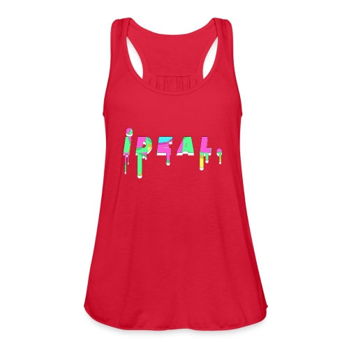 Ideal Acid Drip Logo - Women's Flowy Tank Top by Bella