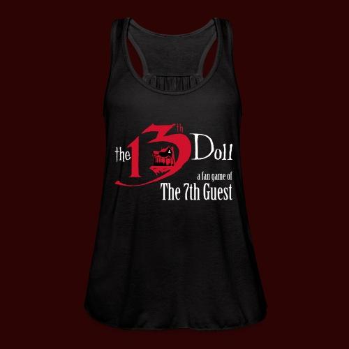The 13th Doll Logo - Women's Flowy Tank Top by Bella