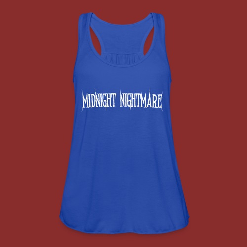 Midnight Nightmare Logo-w - Women's Flowy Tank Top by Bella