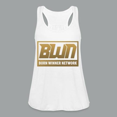 BWN (Gold) - Women's Flowy Tank Top by Bella