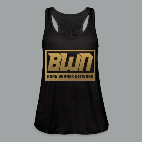 BWN (Gold) - Women's Flowy Tank Top by Bella