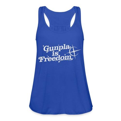 Freedom Men's T-shirt — Banshee Black - Women's Flowy Tank Top by Bella