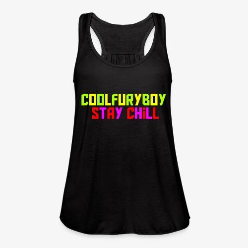 CoolFuryBoy - Women's Flowy Tank Top by Bella