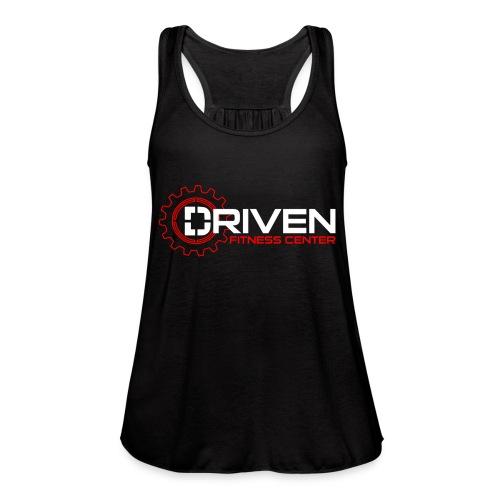 Driven Fitness Horizontal Logo - Women's Flowy Tank Top by Bella