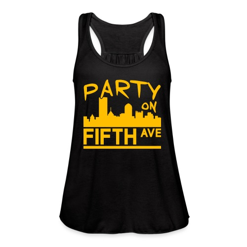 Party on Fifth Ave - Women's Flowy Tank Top by Bella