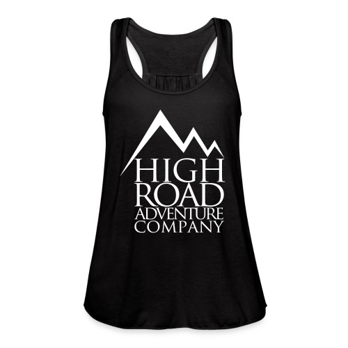 High Road Adventure Company Logo - Women's Flowy Tank Top by Bella