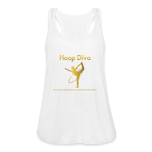 Hoop Diva 2 - Women's Flowy Tank Top by Bella