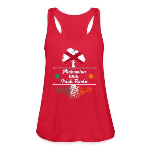ALABAMIAN WITH IRISH ROOTS - Women's Flowy Tank Top by Bella