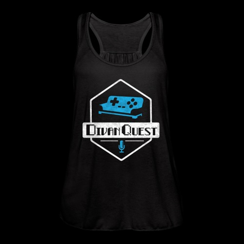 DivanQuest Logo (Badge) - Women's Flowy Tank Top by Bella