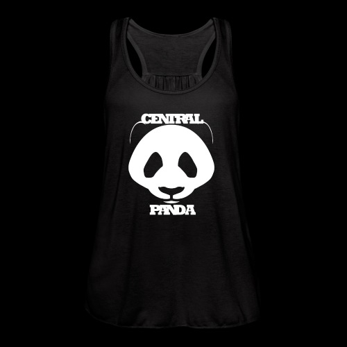 Central Panda - Women's Flowy Tank Top by Bella