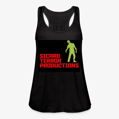 Sicard Terror Productions Merchandise - Women's Flowy Tank Top by Bella