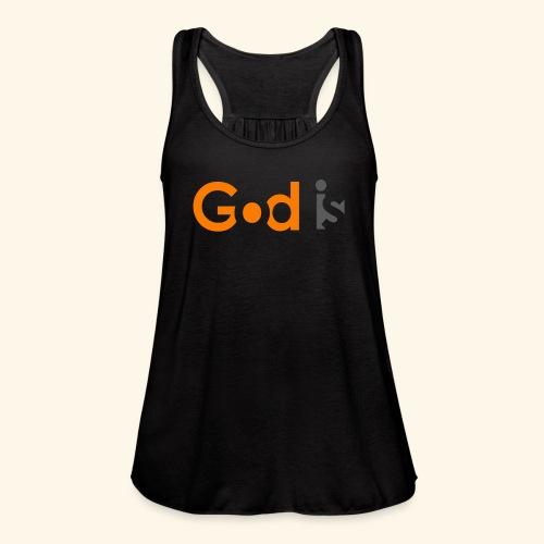 GOD IS #6 - Women's Flowy Tank Top by Bella