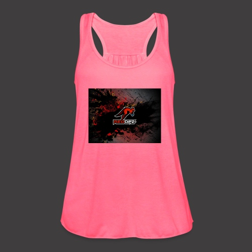 RedOpz Splatter - Women's Flowy Tank Top by Bella