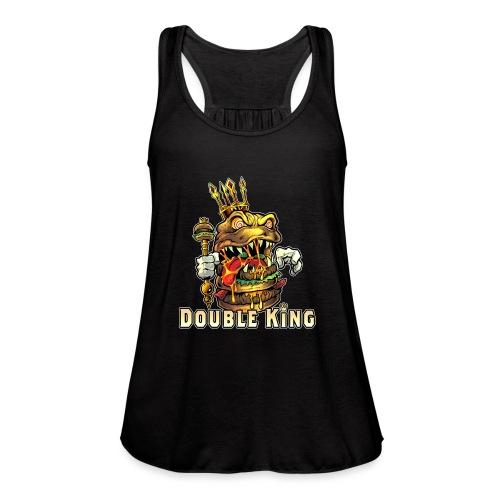 Double King [Variant] - Women's Flowy Tank Top by Bella