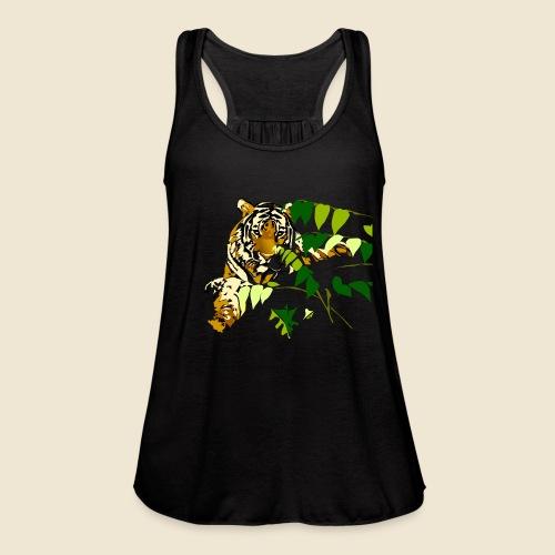 Tiger - Women's Flowy Tank Top by Bella
