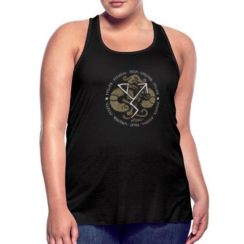Witness True Sorcery Emblem (Alu, Alu laukaR!) - Women's Flowy Tank Top by Bella