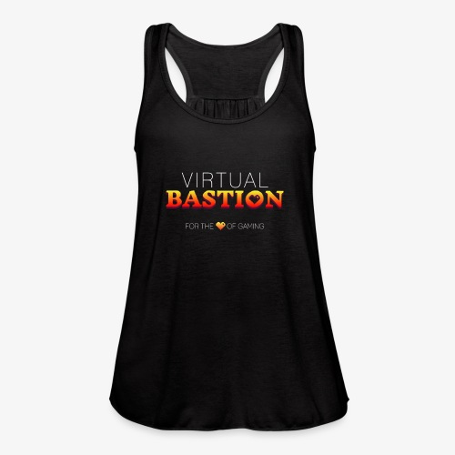 Virtual Bastion: For the Love of Gaming - Women's Flowy Tank Top by Bella