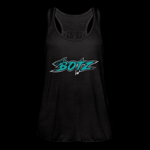 BOTZ Teal Logo - Women's Flowy Tank Top by Bella